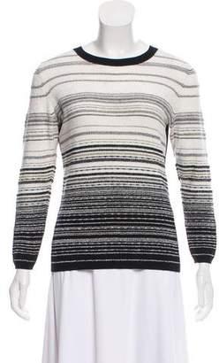 Diane von Furstenberg Striped Crew Neck Sweater