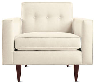 Design Within Reach Bantam Armchair, Offwhite Fabric