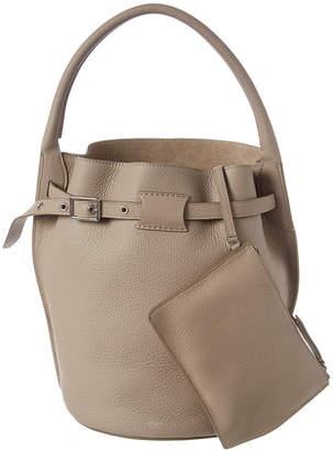 Celine Big Bag Leather Bucket Bag