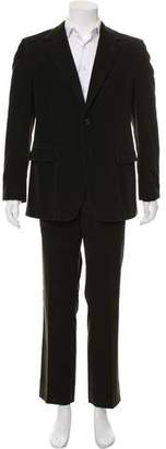 Prada Corduroy Two-Button Suit