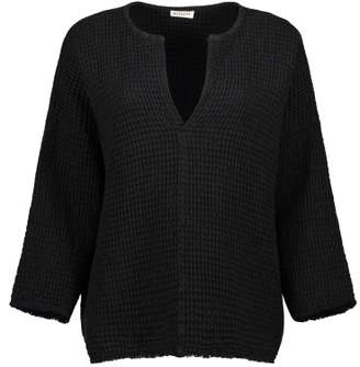 Masscob Sale - Cotton and Linen Honeycomb Sweatshirt