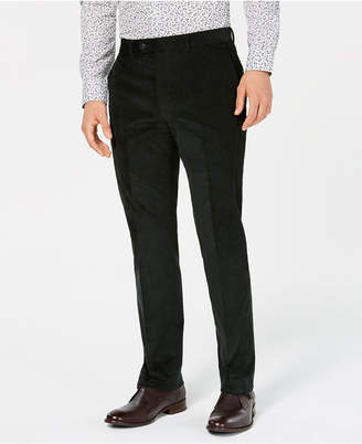 Bar III Men's Slim-Fit Stretch Corduroy Suit Pants, Created for Macy's