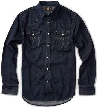 Ralph Lauren Slim Fit Denim Western Shirt