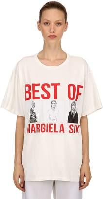 MM6 MAISON MARGIELA Oversized Best Of Print Jersey T-Shirt
