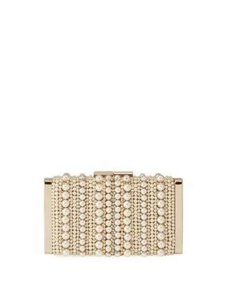 Jimmy Choo J Box Pearly Box Clutch Bag