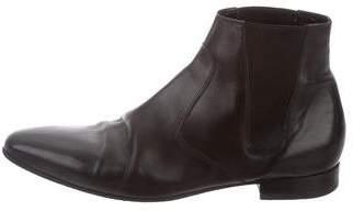 Saint Laurent Pointed-Toe Chelsea Boots