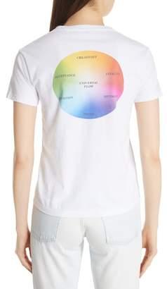 Balenciaga Rainbow Back Tee