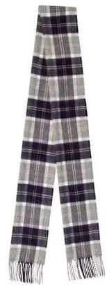 Johnstons of Elgin Tartan Classic Cashmere Scarf