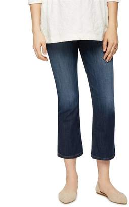 Joe's Jeans Secret Fit Belly Olivia Cropped Flare Maternity Jean