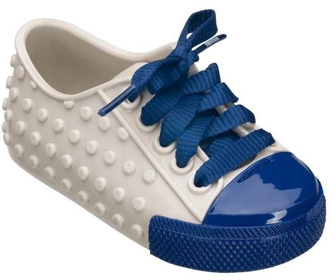 Melissa Shoes - Mini Melissa Polibolha - Beige/Blue