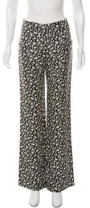 Altuzarra Floral Jacquard Pants