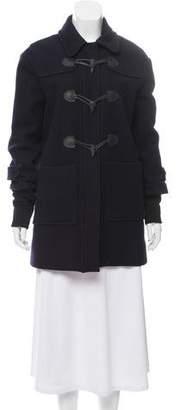 A.L.C. Silk-Lined Wool Toggle Coat