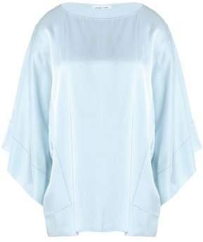 Helmut Lang Woman Striped Cotton-poplin Shirt Azure Size M Helmut Lang For Cheap Cheap Online BQcuNQh