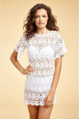 Miguelina Grace Ocean Lily Lace Dress