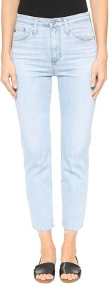 AG The Phoebe Vintage High Waist Jeans $215 thestylecure.com