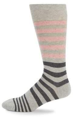 Saks Fifth Avenue Striped Crew Socks