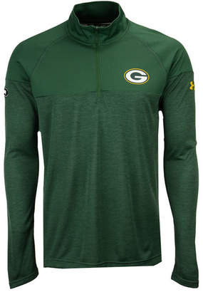 Under Armour Men's Green Bay Packers Twist Tech Quarter-Zip Pullover