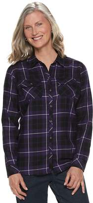 Croft & Barrow Women's Classic Soft Shirt