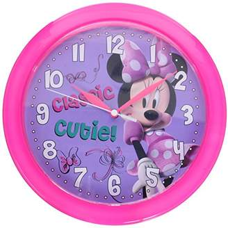 Disney Minnie Mouse Bow-tique 10-inch Wall Clock