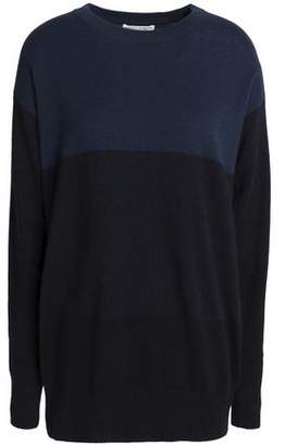 Current/Elliott (カレント エリオット) - Current/Elliot + Charlotte Gainsbourg Two-Tone Knit Cashmere Sweater