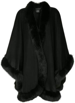Sofia Cashmere fur trimmed jacket