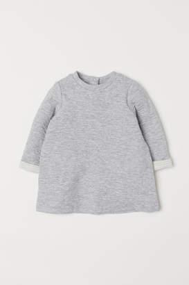 H&M Textured dress - Gray