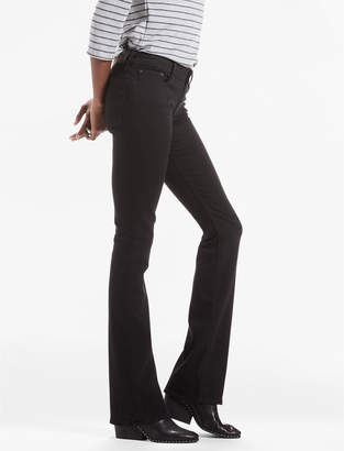 Lucky Brand LOLITA MID RISE BOOTCUT JEAN IN BLACK AMBER