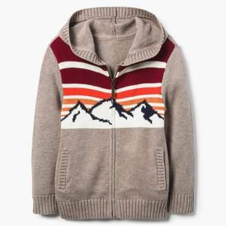 Gymboree Mountain Sweater Hoodie
