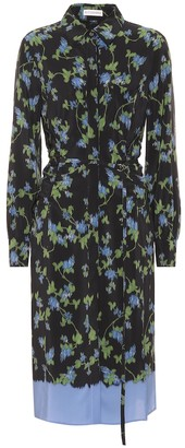 Altuzarra Strada floral silk shirt dress