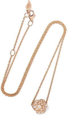 Piaget 18-karat Rose Gold Diamond Necklace