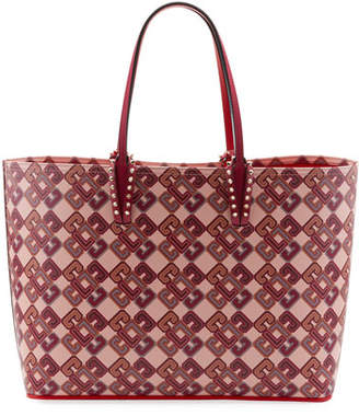Christian Louboutin Cabata Calf Paris LoubiX Tote Bag