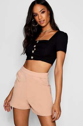boohoo Tall Nina Tailored Shorts