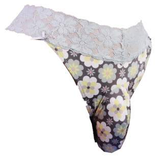 "aishani SISSY pouch panties size 40""-42"" men's G-string bikini thong male underwear sexy for men--( , XL )"