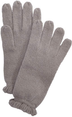 Charter Club Ruffled Cashmere Gloves