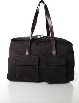 Samsonite Brown Leather Detail Shoulder Bagf $49 thestylecure.com