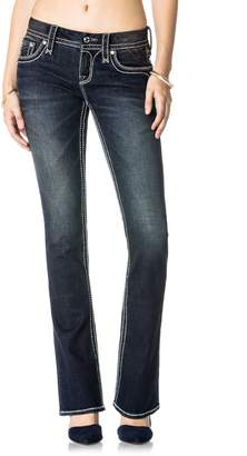 Rock Revival Womens Alaness B204 Bootcut Jeans