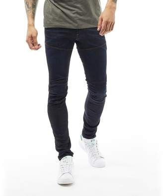 G Star G-STAR Mens 5620 Elwood 3D Super Slim Jeans Dark Aged