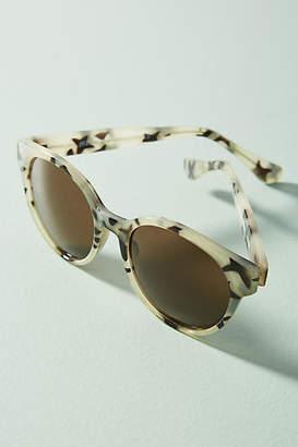 Anthropologie Tabitha Round Tortoise Sunglasses
