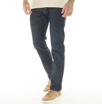 883 Police Mens Cassady LA 336 Active Flex Slim Fit Jeans Blue