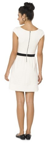 Xhilaration Quilted Fit & Flare Dress