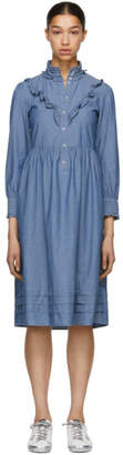 A.P.C. Indigo Nicks Dress