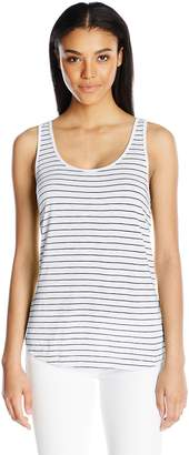 Splendid Women's Striped Cross Back Tank
