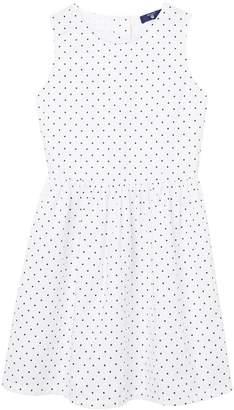 Gant Girls Oxford Dot Dress