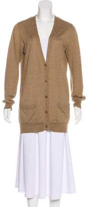 Dries Van Noten Wool & Cashmere-Blend Cardigan