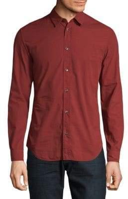 Maison Margiela Classic Cotton Casual Button-Down Shirt