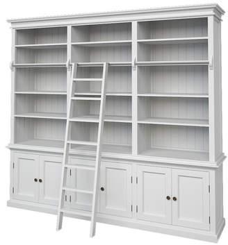 Halifax Hutch 240cm Bookcase Ladder: NO