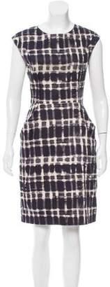 Lela Rose Printed Sheath Dress