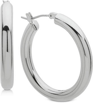Dkny 1 5 Thick Hoop Earrings