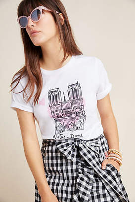 Anthropologie Notre-Dame x French Heritage Society Graphic Tee