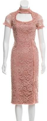 Alexis Lace Short Sleeve Dress